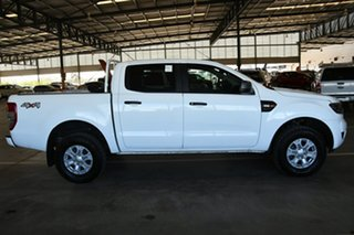 2018 Ford Ranger PX MkII 2018.00MY XLS Double Cab Cool White 6 Speed Sports Automatic Utility