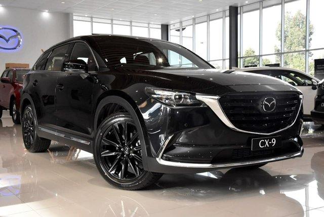 New Mazda CX-9 TC GT SP SKYACTIV-Drive Waitara, 2021 Mazda CX-9 TC GT SP SKYACTIV-Drive Black 6 Speed Sports Automatic Wagon
