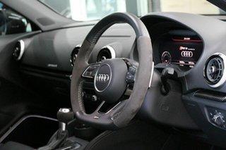 2020 Audi RS 3 8V MY20 Carbon Edition Sportback S Tronic Quattro Black 7 Speed.