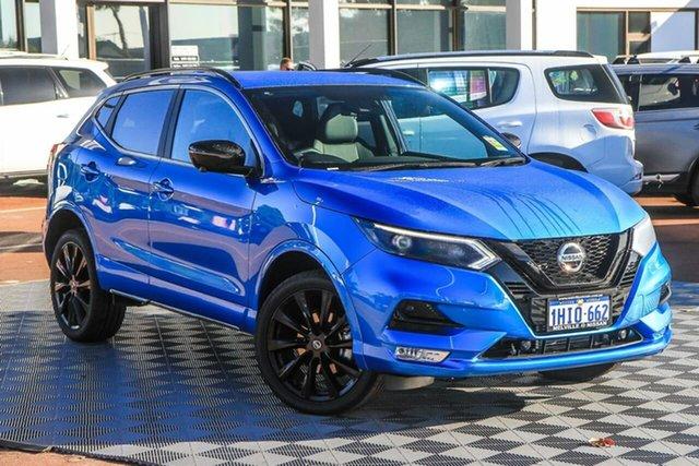Demo Nissan Qashqai J11 Series 3 MY20 Midnight Edition X-tronic Melville, 2021 Nissan Qashqai J11 Series 3 MY20 Midnight Edition X-tronic Vivid Blue 1 Speed Constant Variable