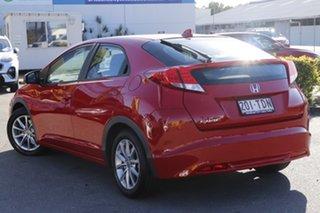 2013 Honda Civic 9th Gen MY13 VTi-S Milano Red 5 Speed Sports Automatic Hatchback.
