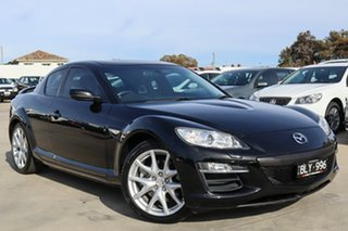 2008 Mazda RX-8 FE1032 Luxury Black 6 Speed Sports Automatic Coupe
