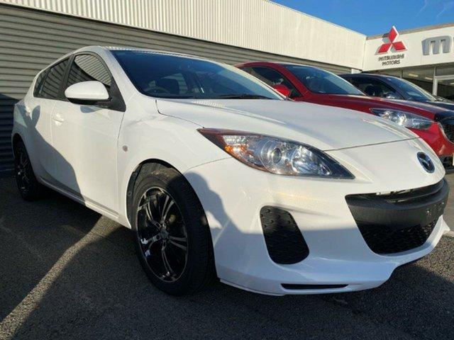 Used Mazda 3 BL10F2 MY13 Neo Activematic Gladstone, 2013 Mazda 3 BL10F2 MY13 Neo Activematic White 5 Speed Sports Automatic Hatchback
