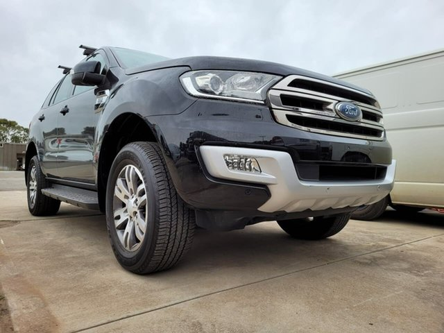 Used Ford Everest UA Trend Elizabeth, 2016 Ford Everest UA Trend Black 6 Speed Sports Automatic SUV