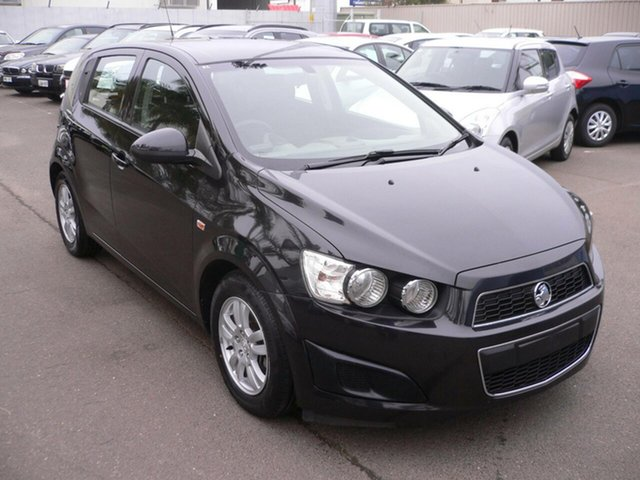 Used Holden Barina TM MY16 CD St Marys, 2016 Holden Barina TM MY16 CD Black 6 Speed Automatic Hatchback