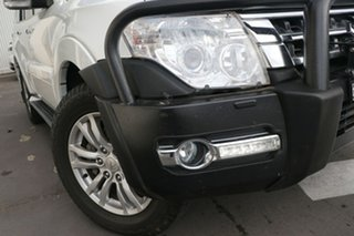 2015 Mitsubishi Pajero NX MY15 GLX White 5 Speed Sports Automatic Wagon.