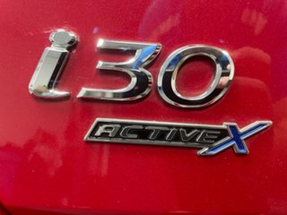 2015 Hyundai i30 GD3 Series II MY16 Active X Red 6 Speed Sports Automatic Hatchback