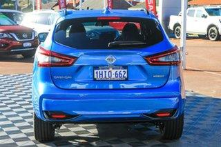 2021 Nissan Qashqai J11 Series 3 MY20 Midnight Edition X-tronic Vivid Blue 1 Speed Constant Variable.