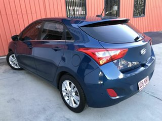 2014 Hyundai i30 GD MY14 Elite Blue 6 Speed Sports Automatic Hatchback.