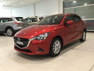 2015 Mazda 2 DJ2HAA Maxx SKYACTIV-Drive Soul Red 6 Speed Sports Automatic Hatchback