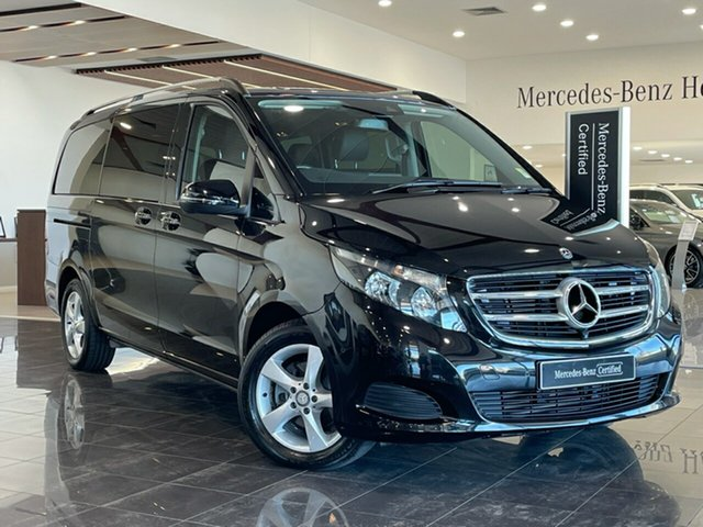 Used Mercedes-Benz V-Class 447 V220 d 7G-Tronic + Hervey Bay, 2017 Mercedes-Benz V-Class 447 V220 d 7G-Tronic + Black 7 Speed Sports Automatic Wagon