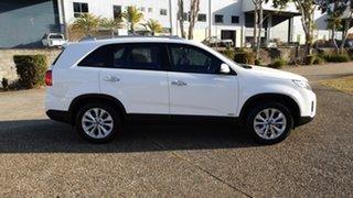 2012 Kia Sorento XM MY12 SLi (4x4) White 6 Speed Automatic Wagon.