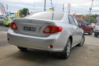 2008 Toyota Corolla ZRE152R Ascent Silver 4 Speed Automatic Sedan