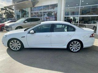 2012 Ford Falcon FG MkII G6E Turbo White 6 Speed Sports Automatic Sedan