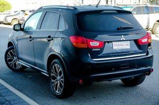 2015 Mitsubishi ASX XB MY15 LS 2WD Black/Grey 6 Speed Constant Variable Wagon.