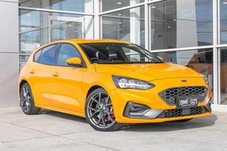 2020 Ford Focus ST Orange 7 Speed Automatic Hatchback.