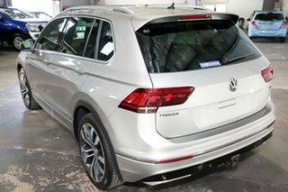 2018 Volkswagen Tiguan 5N MY19 162TSI DSG 4MOTION Highline Silver 7 Speed