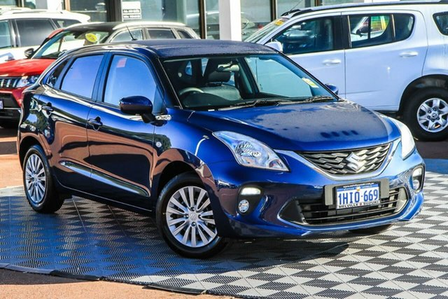 Demo Suzuki Baleno EW Series II GL Melville, 2021 Suzuki Baleno EW Series II GL Star Blue 4 Speed Automatic Hatchback
