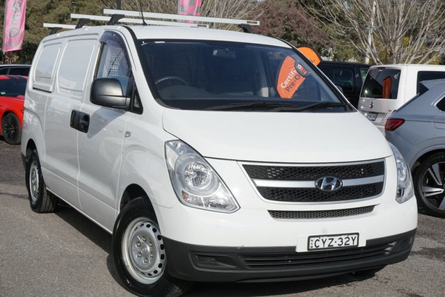 Used Hyundai iLOAD TQ2-V MY15 Phillip, 2015 Hyundai iLOAD TQ2-V MY15 White 5 Speed Automatic Van