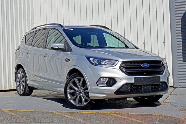 Used Ford Escape ZG 2019.25MY ST-Line Springwood, 2019 Ford Escape ZG 2019.25MY ST-Line Silver 6 Speed Sports Automatic SUV