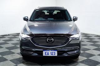 2018 Mazda CX-8 KG4W2A Asaki SKYACTIV-Drive i-ACTIV AWD Grey 6 Speed Sports Automatic Wagon.