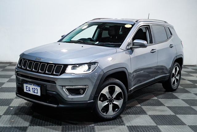 Used Jeep Compass M6 MY18 Limited Edgewater, 2018 Jeep Compass M6 MY18 Limited Grey 9 Speed Automatic Wagon
