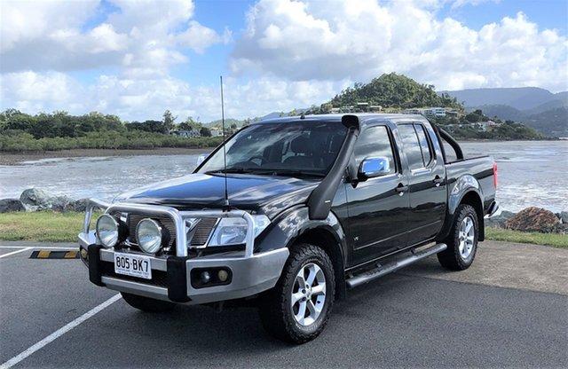 Used Nissan Navara D40 S6 MY12 ST-X Proserpine, 2012 Nissan Navara D40 S6 MY12 ST-X Black Automatic
