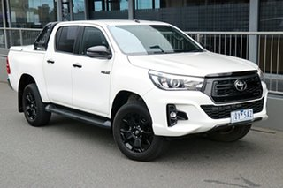 2020 Toyota Hilux GUN126R Rogue Double Cab White 6 Speed Sports Automatic Utility.