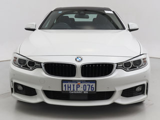 2016 BMW 430i F32 MY16.5 M Sport White 8 Speed Automatic Coupe.