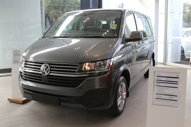 New Volkswagen Multivan T6.1 MY21 TDI340 SWB DSG Comfortline Premium Indooroopilly, 2021 Volkswagen Multivan T6.1 MY21 TDI340 SWB DSG Comfortline Premium Ravenna Blue 7 Speed