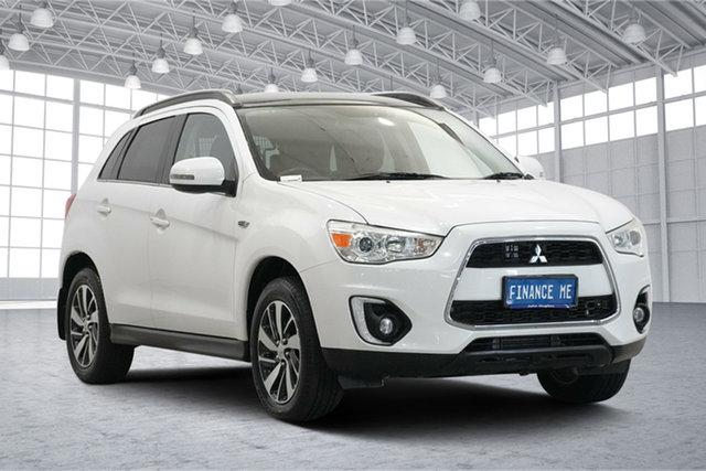 Used Mitsubishi ASX XB MY15 XLS Victoria Park, 2015 Mitsubishi ASX XB MY15 XLS White 6 Speed Sports Automatic Wagon