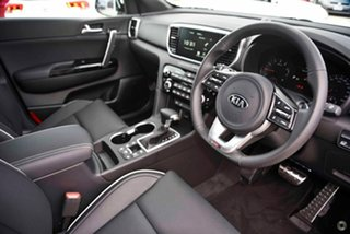 2021 Kia Sportage QL MY21 GT-Line AWD White 6 Speed Sports Automatic Wagon