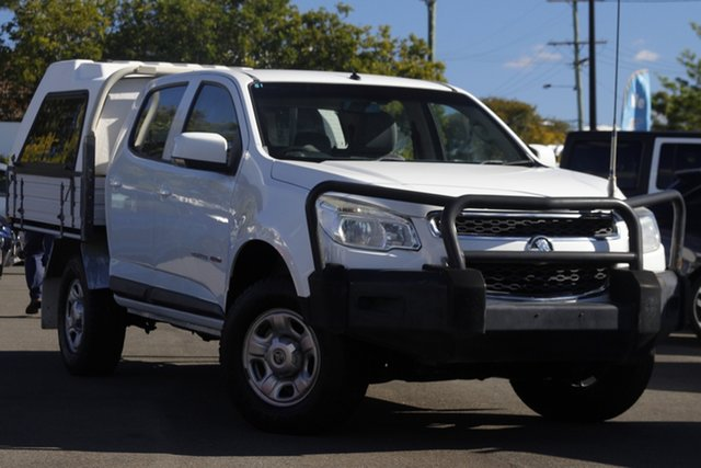 Used Holden Colorado RG MY16 LS Crew Cab Mount Gravatt, 2016 Holden Colorado RG MY16 LS Crew Cab White 6 Speed Sports Automatic Cab Chassis