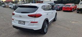 2019 Hyundai Tucson TL3 MY19 Elite D-CT AWD White 7 Speed Sports Automatic Dual Clutch Wagon.