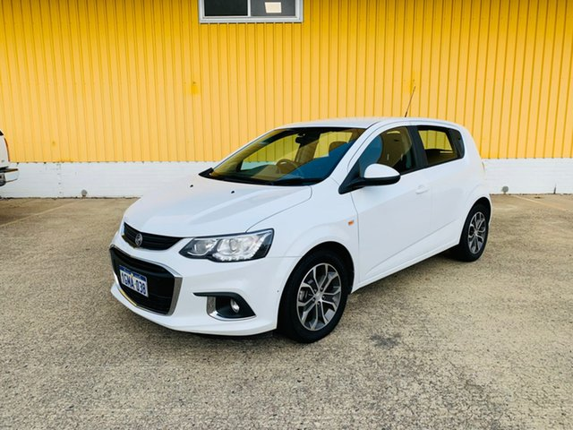 Used Holden Barina TM MY18 LS Canning Vale, 2018 Holden Barina TM MY18 LS White 6 Speed Automatic Hatchback