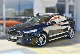 2017 Ford Mondeo MD 2017.50MY Titanium Black 6 Speed Sports Automatic Dual Clutch Hatchback.