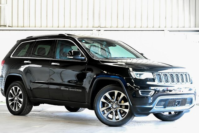Used Jeep Grand Cherokee WK MY17 Limited Laverton North, 2017 Jeep Grand Cherokee WK MY17 Limited Black 8 Speed Sports Automatic Wagon
