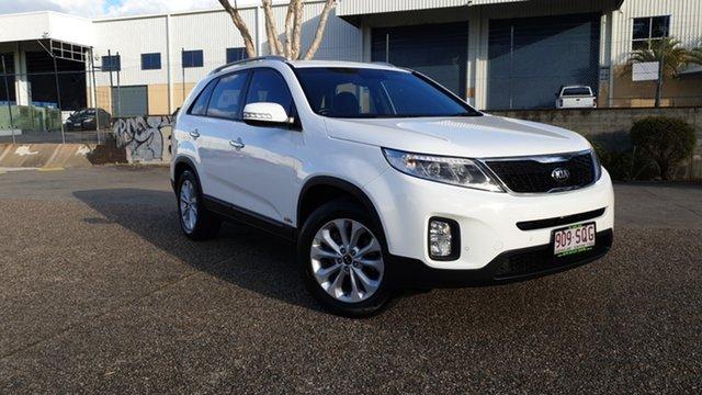 Used Kia Sorento XM MY12 SLi (4x4) Underwood, 2012 Kia Sorento XM MY12 SLi (4x4) White 6 Speed Automatic Wagon
