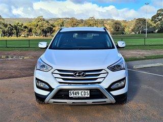 2012 Hyundai Santa Fe DM MY13 Active White 6 Speed Sports Automatic Wagon.