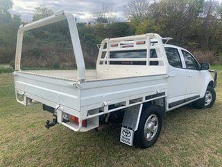 2018 Holden Colorado RG MY19 LS (4x4) (5Yr) White 6 Speed Automatic Crew Cab Chassis.