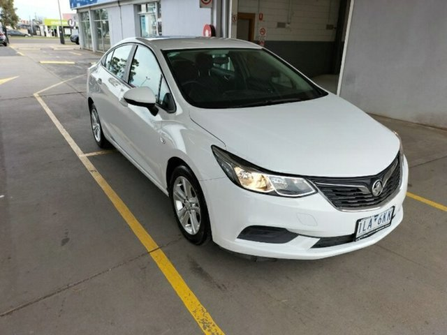 Used Holden Astra BL MY17 LS Melton, 2017 Holden Astra BL MY17 LS White 6 Speed Sports Automatic Sedan
