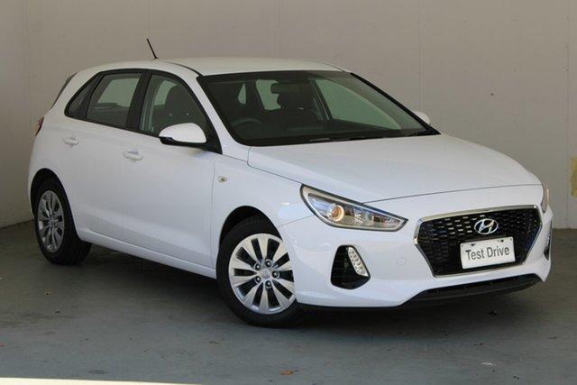 Used Hyundai i30 PD MY19 Go Phillip, 2019 Hyundai i30 PD MY19 Go White 6 Speed Sports Automatic Hatchback