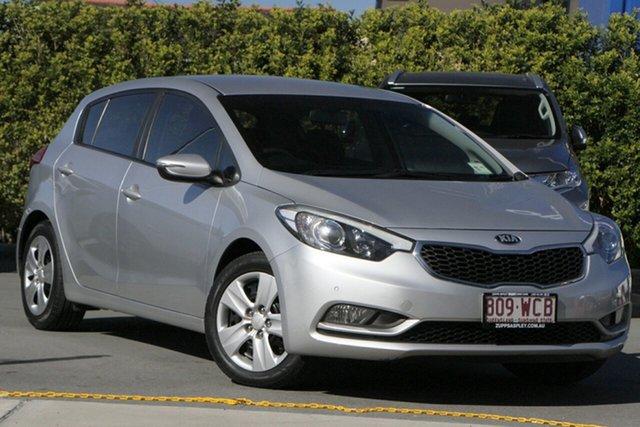 Used Kia Cerato YD MY15 S Aspley, 2015 Kia Cerato YD MY15 S Silver 6 Speed Sports Automatic Hatchback