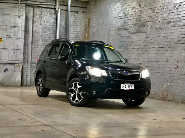 Used Subaru Forester S4 MY14 2.5i-S Lineartronic AWD Mile End South, 2013 Subaru Forester S4 MY14 2.5i-S Lineartronic AWD Black 6 Speed Constant Variable Wagon