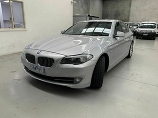 2010 BMW 5 Series F10 535i Steptronic Silver 8 Speed Sports Automatic Sedan.