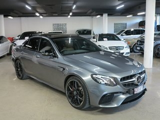 2018 Mercedes-Benz E-Class W213 808MY E63 AMG SPEEDSHIFT MCT 4MATIC+ S Grey 9 Speed Sports Automatic.