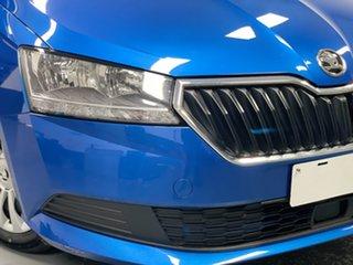 2019 Skoda Fabia NJ MY19 81TSI DSG Blue 7 Speed Sports Automatic Dual Clutch Wagon.