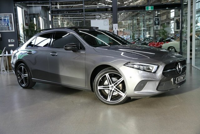 Used Mercedes-Benz A-Class V177 800MY A200 DCT North Melbourne, 2019 Mercedes-Benz A-Class V177 800MY A200 DCT Grey 7 Speed Sports Automatic Dual Clutch Sedan