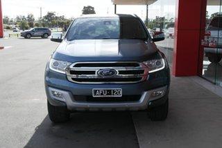 2015 Ford Everest UA Titanium Blue 6 Speed Sports Automatic SUV.