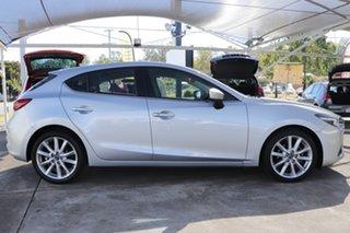2016 Mazda 3 BN5436 SP25 SKYACTIV-MT GT Sonic Silver 6 Speed Manual Hatchback.